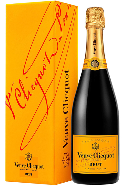 Veuve Clicquot Yellow Label Postmail Champagne